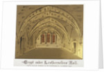 Crypt under Leathersellers' Hall, Little St Helen's, City of London by