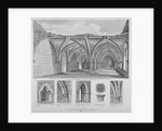 St Helen's crypt, Bishopsgate, City of London by