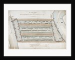 Plan of proposed docks at the Isle of Dogs, now the site of West India Docks, London by Anonymous