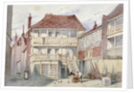 View of the French Horn Tavern, Holborn, London by Frederick Napoleon Shepherd