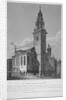 View of the Church of St James Garlickhythe, City of London by