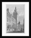 View of the Church of St James Garlickhythe, City of London by R Acon