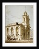 North-west view of the Church of St Mary Woolnoth, City of London by