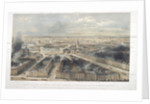 Aerial view of London by