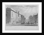 Newgate Prison, Old Bailey, City of London by R Acon