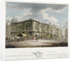 Newgate Prison, Old Bailey, City of London by Thomas Medland