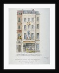 Mr Sanders' Coffee and Eating House, 32 Newgate Street, City of London by Charles James Richardson