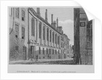 View of the Merchant Taylors' School in Suffolk Lane, City of London by John Chessell Buckler