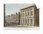 The London Commercial Sale Rooms and Mincing Lane, City of London by Anonymous