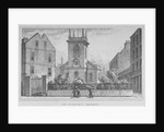Church of St Olave Jewry, from Ironmonger Lane, City of London by
