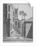 West prospect of the Church of St Olave Jewry from Ironmonger Lane, City of London by Benjamin Cole