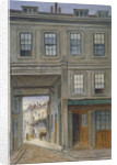View of New Inn, Old Bailey, City of London by JT Wilson