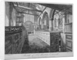 Interior of the Church of St Martin Outwich, City of London by