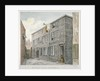 View of Butler's Alley, Milton Street, City of London by