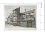 Sir Richard Whittington's House, Milton Street, City of London by Samuel Ireland