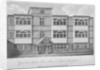 House of George Monck, Duke of Albermarle in Grub Street, now Milton Street, City of London by A Birrell
