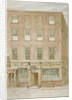 The Mitre Tavern, coffee house and hotel on Mitre Court, Fleet Street, City of London by James Findlay