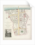 Map of the Parish of Christ Church in Southwark, London by Anonymous