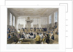 Inside the Central Criminal Court, Old Bailey, with a court in session, City of London by Harden Sidney Melville