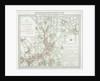 Map of the parish of St Mary, Islington, London by Benjamin Baker