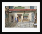 View of the Sun and Last inn in Newgate Market, Paternoster Square, City of London by JT Wilson