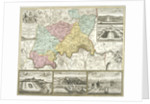 Map of London and surrounding counties by