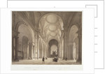 Nave of St Paul's Cathedral, looking east towards the choir, City of London by Jules Louis Arnout