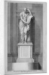 Dr Johnson's monument, by John Bacon, in St Paul's Cathedral, City of London by James Basire I