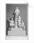 Monument to Charles, Marquis Cornwallis, St Paul's Cathedral, City of London by Samuel Rawle