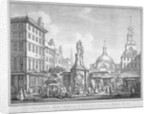 View of the Stocks Market in Poutry, City of London, in the year 1738 (1752) by Henry Fletcher