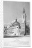 North-west view of the Church of St Stephen Walbrook, City of London by