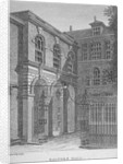 View of Salters' Hall, St Swithin's Lane, City of London by William Angus