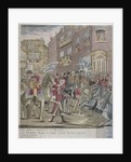 The proclamation of peace at Temple Bar, London, 29 April 1802 by