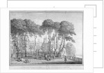 View of Fountain Court, Middle Temple, City of London by Henry Fletcher