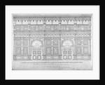 Elizabethan oak screen, Middle Temple Hall, City of London by John Turner
