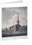 View of the Church of St John Horsleydown, Bermondsey, London by John William Edy