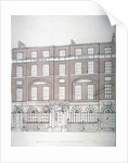 Front view of London House, Aldersgate Street, City of London by Anonymous
