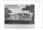 View of Inner Temple Hall from King's Bench Walk, City of London by
