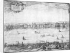 Panorama of London by Claes Jansz Visscher