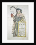 Nicholas Wyfold, Lord Mayor of London 1450-1451, in aldermanic robes by