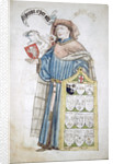 Simon Eyre, Lord Mayor of London 1445-1446, in aldermanic robes by Roger Leigh