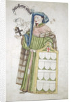 John Sutton, Sheriff of London 1440-1441, in his aldermanic robes by