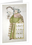 Thomas Scott, Lord Mayor of London 1458-1459, in aldermanic robes by Roger Leigh