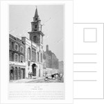 Church of St Vedast Foster Lane, City of London by Samuel Rawle