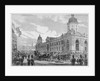 Royal procession passing Smithfield Market, City of London, 6th November 1869 by