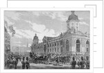 Royal procession passing Smithfield Market, City of London, 6th November 1869 by