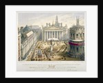 Opening of the Royal Exchange, City of London by Newcombe