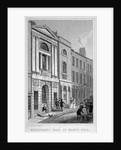 Watermen's and Lightermen's Hall, St Mary at Hill, City of London by James Tingle