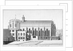 South-east view of Temple Church, City of London by Benjamin Cole
