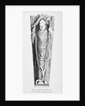 Effigy of a bishop, Temple Church, City of London by